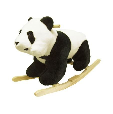 Happy Trails Panda Plush - Happy Trails Plush Children's Rocking Panda Bear