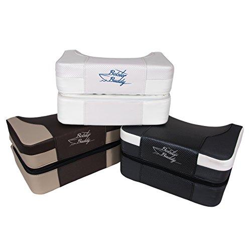 Bolster-Buddy-Quality-Boat-Seat-Cushion-Mocha-X-Large
