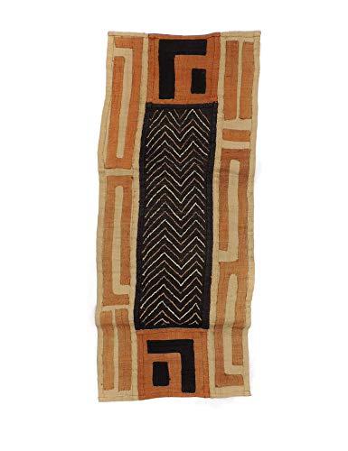 Kuba Raffia Textile Handwoven Congo African Art 35 Inches