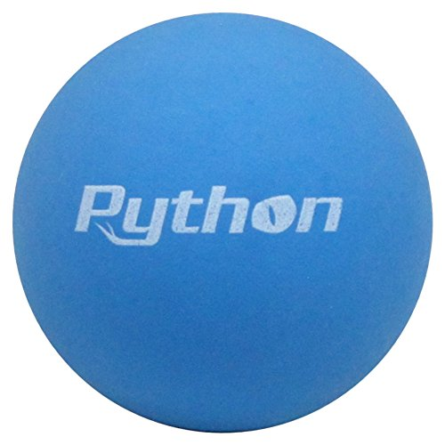 Python Blue Racquetballs (Value Pack 12 Ball Jug/Standard Color w/Tournament Quality!)