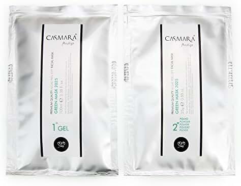 Casmara Premium Quality Algae Peel Off Facial Masks/Green Mask/2025/4.26 Ounce/Mask Gel(3.38 oz)/Mask Powder(0.88 oz)