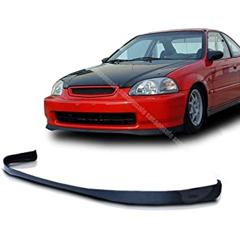 NEW   1996 1998 HONDA CIVIC Coupe Sedan Hatchback SiR Type Front PU Bumper  Lip