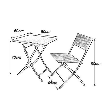soges 3 Pezzi mobili da Esterno Set Bar per Patio Set di Conversazione Wicker Bistro Piccolo Balcone Mobili per Veranda Sedie con Cuscini Mobili da Giardino in Rattan,OMN-SF-0211