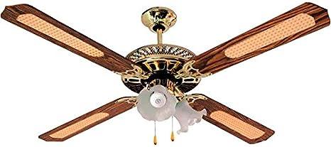 Ventilador de Techo 52 (132 cm), 4 Aspas, 3 Velocidades, 4 ...