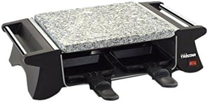 Tristar RA-2990 – Parrilla y plancha de piedra, adecuada para cuatro personas