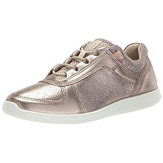 ECCO Women's Sense Toggle Fashion Sneaker, Warm Grey, 38 EU/7-7.5 M US