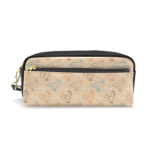 Vintage Rooster And Duck FoodConvenient small cosmetic bag, stylish casual style, suitable for all occasions, travel essentials. -