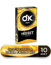 Okey Okey Hisset 10'lu Prezervatif 1 Paket