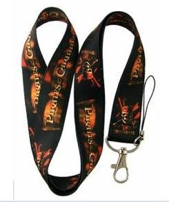 PIRATES OF CARIBBEAN Lanyard Key Chain Holder