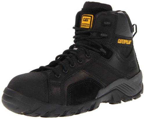 Caterpillar Women's Argon HI WP CT Work Boot,Black,7.5 M