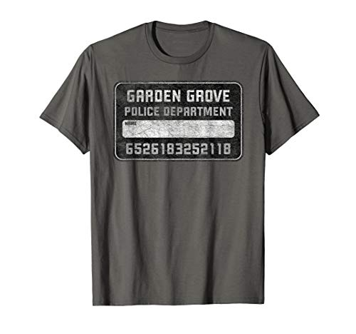 Mug Grove - Mug Shot Board Garden Grove Police Fun Selfie Shirt
