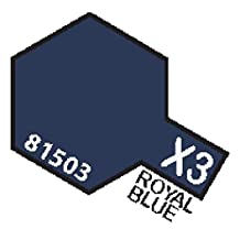 X3 MIN Royal Blue - 10ml jar of Tamiya Color Mini Acrylic Paint