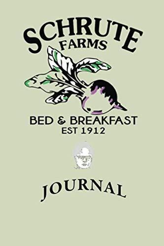 Schrute Farms Journal: Dwight Schrute Farms Journal - The Office Notebook 6x9