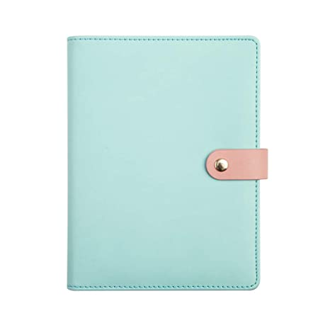 Amazon.com : dfsdmlp A5 Notebook Binder Spiral Ring Faux ...