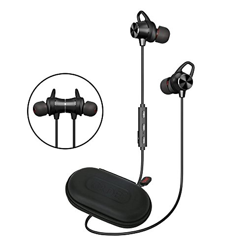 Bluetooth Earbuds, Pandawill Magnetic Wireless headphones Bluetooth Headphones Sport In-Ear IPX4 Sweatproof Earphones with Mic ()