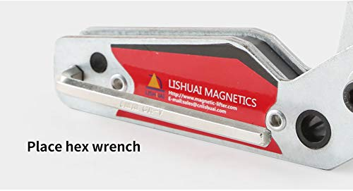 Supporto magnetico per saldatura,20 /° 200 /° regolabile Magnete per saldatura ad angolo per saldatura Accessori per utensili