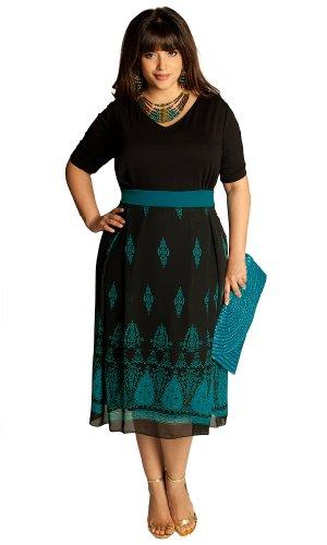 IGIGI Women's Plus Size Heera Dress 14/16