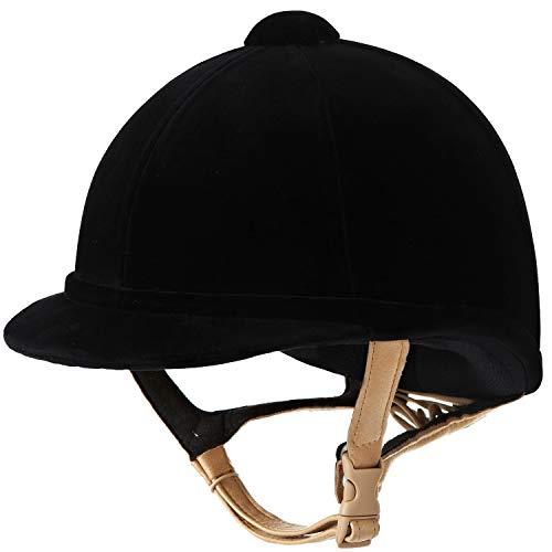 Charles Owen Hampton Helmet Black Size 6 3/4