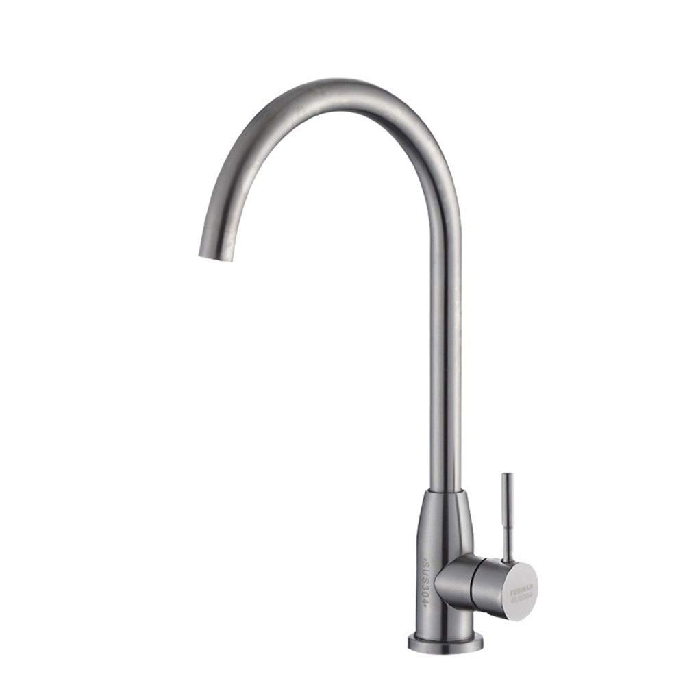 Decorry 304 Stainless Steel Vegetables Basin Kitchen Sink Faucet Valve Cold Water ValveS65-UE6589321562