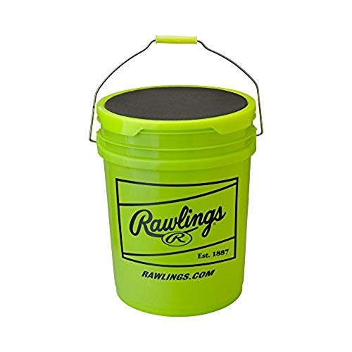 Baseball Express/Rawlings 6 Gallon Empty Bucket With Lid ()