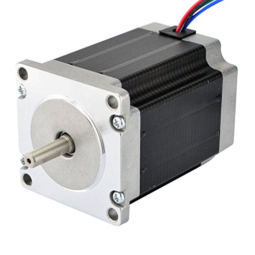 CNC Stepper Motor Nema 23 Bipolar 2.8A 269oz.in/1.9Nm CNC Mill Lathe Router by STEPPERONLINE