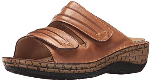 Propet Womens June Slide Sandal Tan rR7rQnaX
