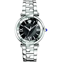 Versace Women's 'REVE' Swiss Quartz Stainless Steel Casual Watch, Color Silver-Toned (Model: VAI040016)