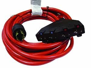 Powermate PA0650192 25-Foot 20 Amp 12 Gauge 4 120 Volt Outlet Generator Power Cord
