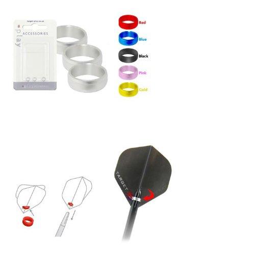 ターゲット シャフトリングTARGET SHAFT RING SLOT LOCK RING ブルーの商品画像
