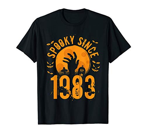 Halloween Anniversary Gifts (Spooky Since 1983 Halloween Bday Gifts 36th birthday)