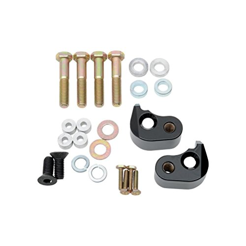 Price comparison product image LA CHOPPERS LA-7590-00B Black Lowering Kit (Rear)