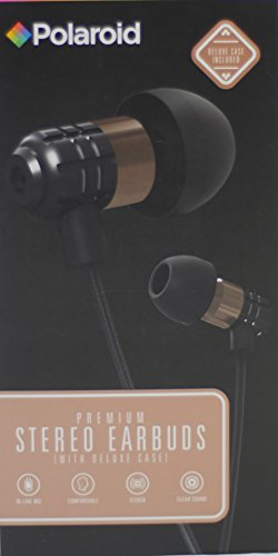 Polaroid Premium Stereo Earbuds Deluxe
