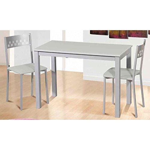 Amuebla 779. Mesa DE Cocina DE 110 X 55 CM. Extensible Frontal.