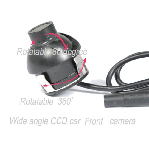 BW Front Car Camera 360 Degree Eyeball CCD Waterproof Front Car Camera with Wide Angle