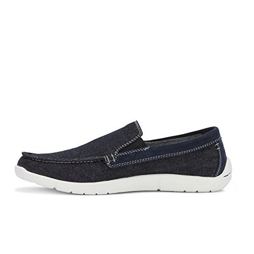 Portuali Mens Intelligenti 360 Flex Ashland 360 Scarpa Mocassino Casual Con Neverwet Blu Scuro