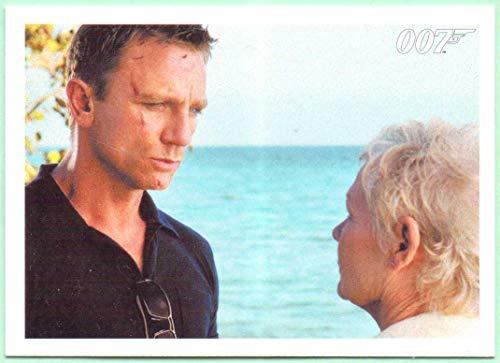 Rittenhouse 2014 James Bond Archives Casino Royale Base Card #041 - Daniel Craig, Judi Dench