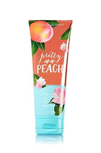 Beautiful Peach - Bath and Body Works Ultra Shea Cream Pretty As A Peach 8 Ounce
