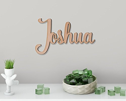 Kids Wall Decor. Wooden Name Signs. Personalized DIY Gifts. Unpainted Name Sign. (Different Sizes Available) (Name Sign)