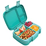 Bentgo Fresh (Aqua) - New & Improved Leak-Proof, Versatile 4-Compartment Bento-Style Lunch Box - Ideal for...