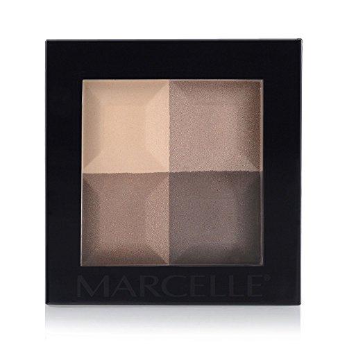 Marcelle Eyeshadow Quad, Nouveau Nude, 4.60 Gram