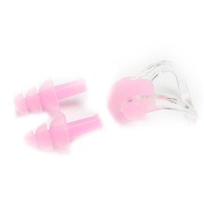 Schwimmen Sport Nasenklammer und Ohrenstöpsel Ohrplug Nose ClipEar Plug Set