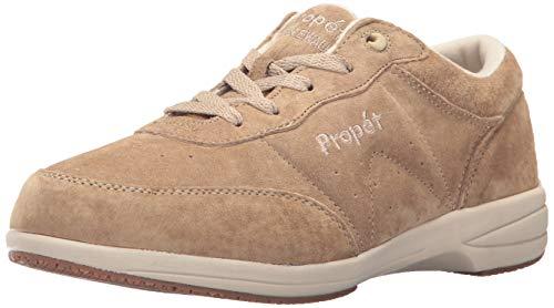 (Propet Women's Washable Walker Walking Shoe, SR Taupe, 7H Wide)