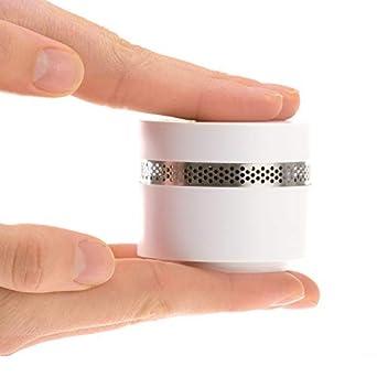 MINI DETECTOR DE HUMO Fumo | Alarma de incendio de diseño casero extra pequeña de 4smile
