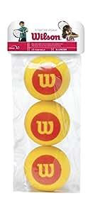 Wilson Starter Foam Tennis Balls, Orange