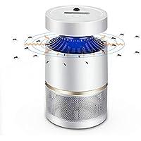 AKINO Moustique tueur lampe Sens de la lumière Interrupteur automatique 6W non toxique LED Mosquito Trap Moteur silencieux et puissant (pour l'intérieur)