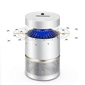 AKINO Lampada antizanzare Luce Senso Controllo Non tossico 6W LED Mosquito Trappola Tranquilla e Potente Motor Professional per Uso Indoor 6 spesavip