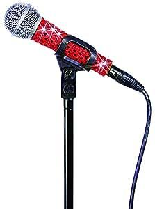 MicFX SF053 Sensation - Funda para micrófono con cable, color rojo