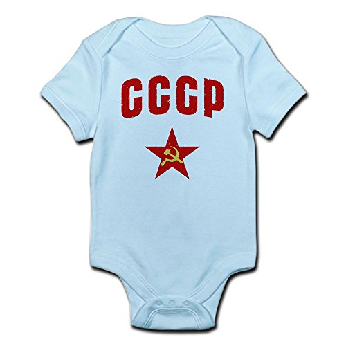 CafePress Hammer and Sickle CCCP Star Infant Creeper - Cute Infant Bodysuit Baby Romper