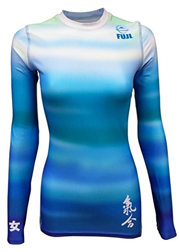 Fuji Haiku Women's Rash Guard - Blue - XL