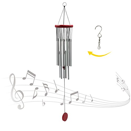 ASTARIN Amazing Grace Wind ChimesMetal Tube Beautiful Wind Chimes Outdoor for Patio Garden Balcony  Beautiful Melodies314""
